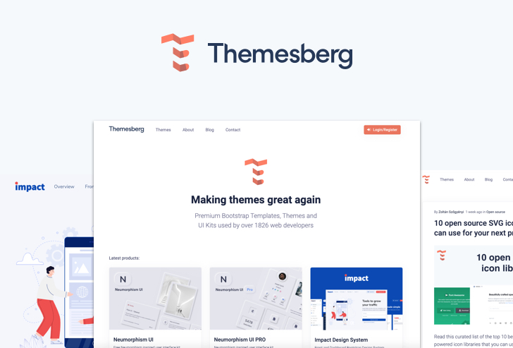Free and Premium Bootstrap Themes, Templates and UI Kits 2020